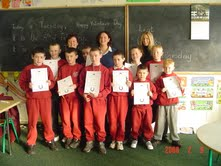 Moyross Junior Schools Programme with IHWT Certificates